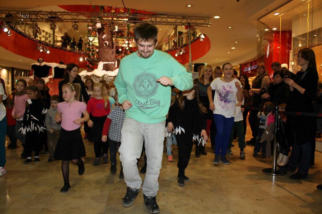 PC Ozas renginyje Šokančios Kalėdos
