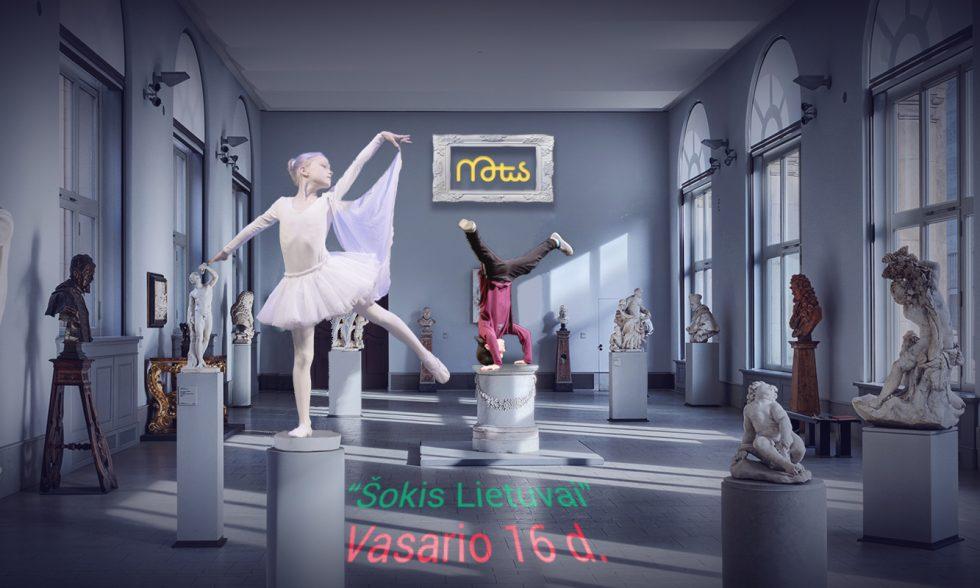 "Motus šokio mokyklos koncertas ""Šokis Lietuvai"""