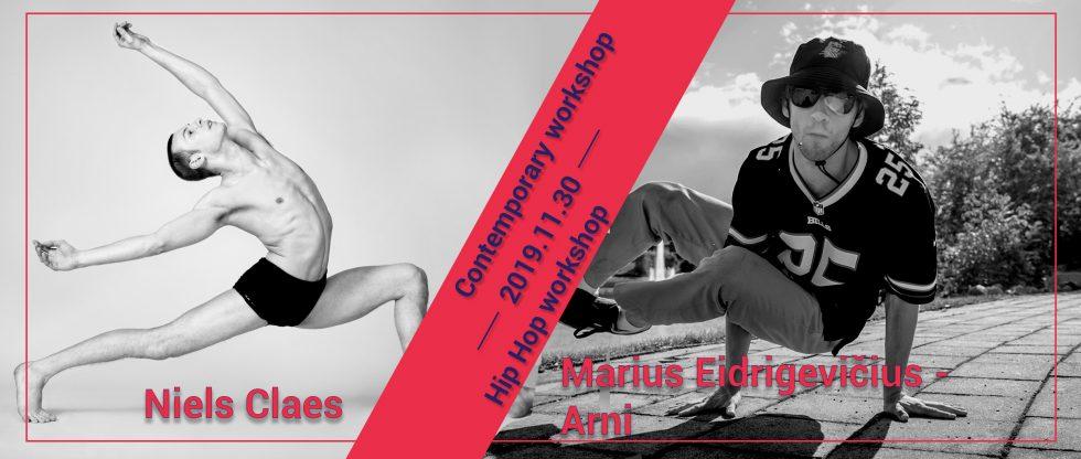 Kviečiame registruotis į šokio seminarus su profesionaliais pedagogais