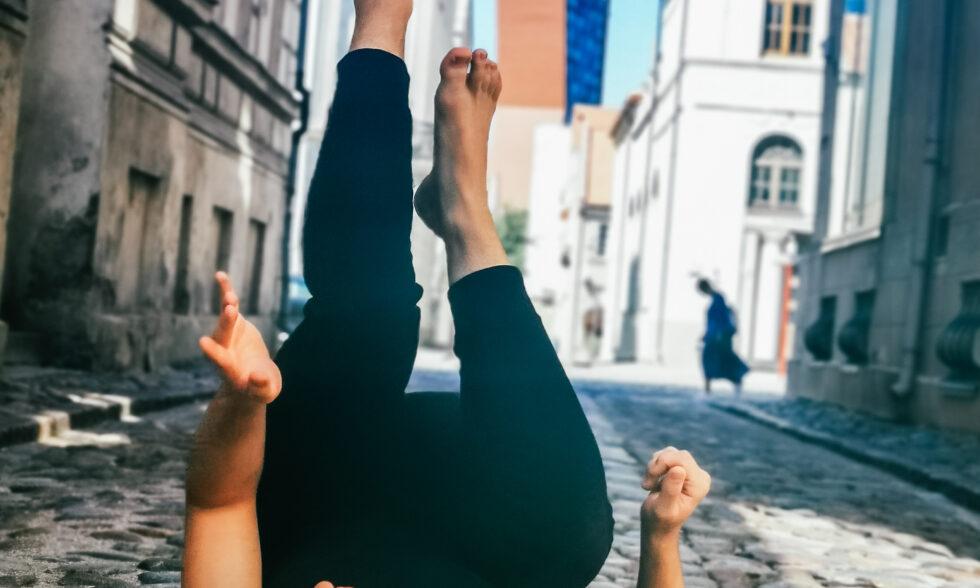 Nemokama šiuolaikinio šokio pamoka 7-10 m. vaikams su Laurynu Krasausku