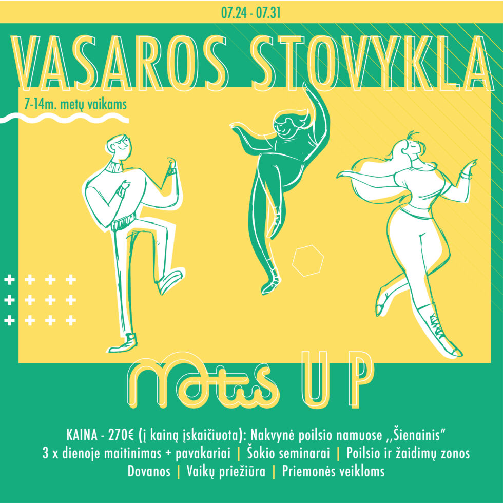"""Stovykla ,,Motus UP"""" !"""